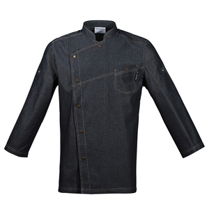 Image 5 - Uniformes de Chef de alta calidad, ropa de manga corta para hombre, ropa de cocina, uniforme de talla grande, chaquetas, monos, Hotel 016