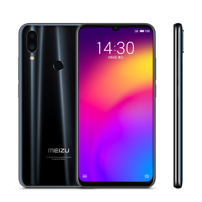 "Original Meizu Note 9 Mobile Phone 48MP+20MP Camera 4000mAh battery 6.2"" 4GB RAM 64GB ROM Snapdragon 675 Fingerprint Cellphone(China)"