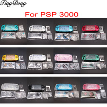 1SET For PSP3000 PSP 3000 Shell Old Version Game Console replacement full housing cover case with buttons