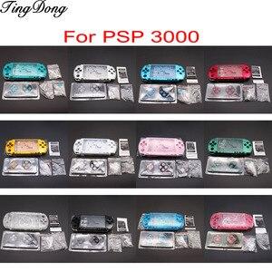 Image 1 - 1Set Voor PSP3000 Psp 3000 Shell Oude Versie Game Console Vervanging Volledige Behuizing Cover Case Met Knoppen