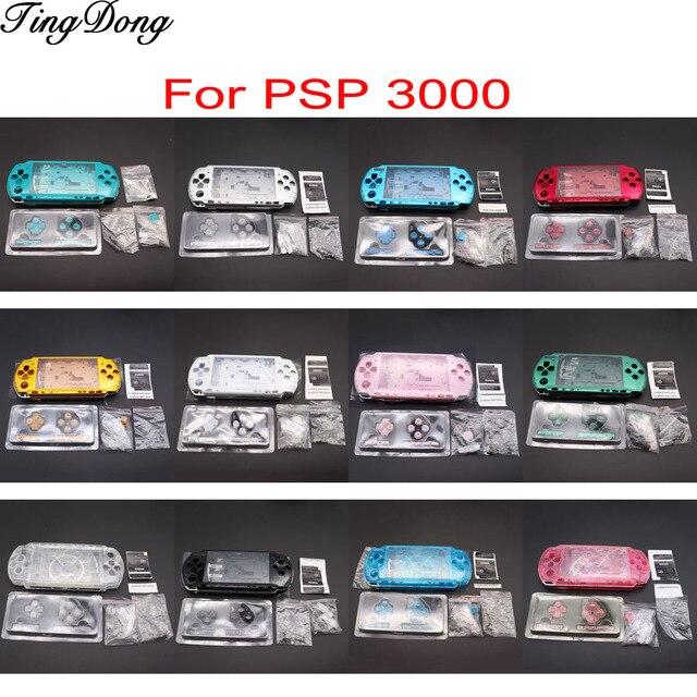 1Set Voor PSP3000 Psp 3000 Shell Oude Versie Game Console Vervanging Volledige Behuizing Cover Case Met Knoppen