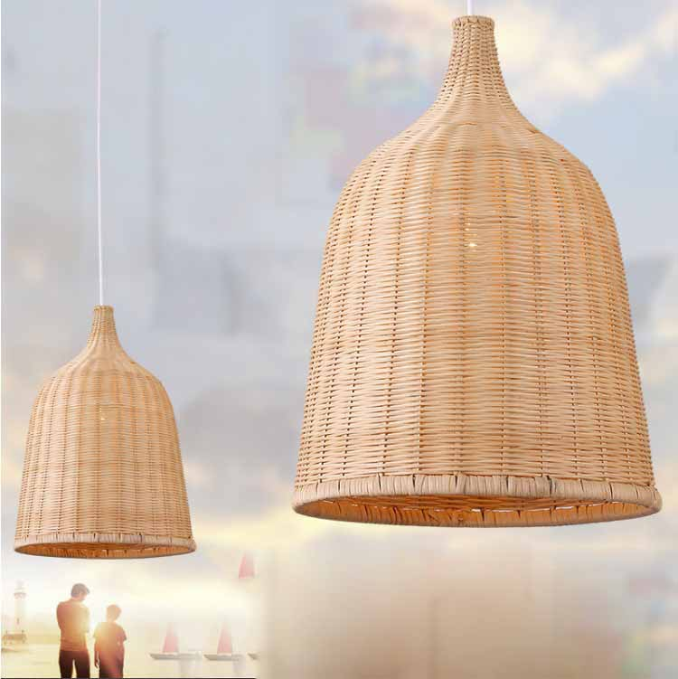 Southeast Asia Rattan Pendant Lamp Hanging Wicker Natural Garden Project Pendant Light Contemporary Indoor Lighting Fixture tt tf ths 02b hybrid style black ver convoy asia exclusive