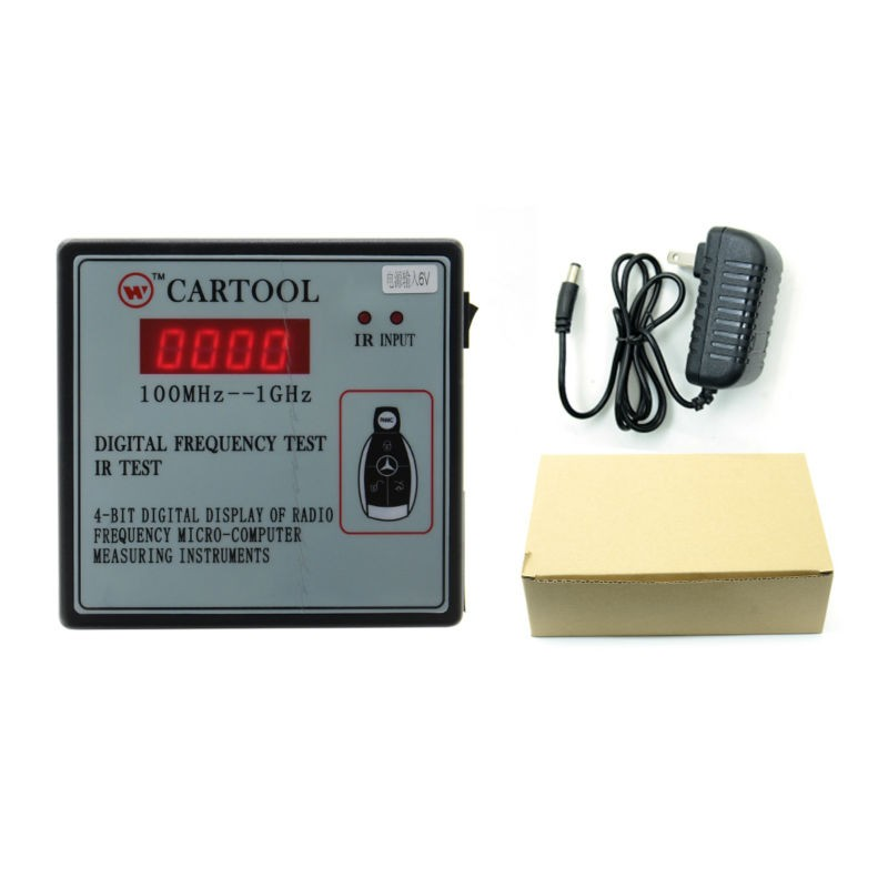 Cheapest Car IR Infrared Remote Key Frequency Tester Frequency Range 100 1000MHZ Remote Control Digital Frequency