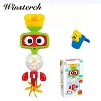 Baby Bath Toys Children Shower Waterwheel Faucet Bath Learning Gifts Bathroom Bathtub Toys Play Sets Early