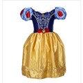 Envío Libre Del Bebé Niñas Vestidos de Los Niños de Dibujos Animados Vestidos de Princesa Rapunzel Cenicienta Aurora Kids Costume Party Ropa YY1594