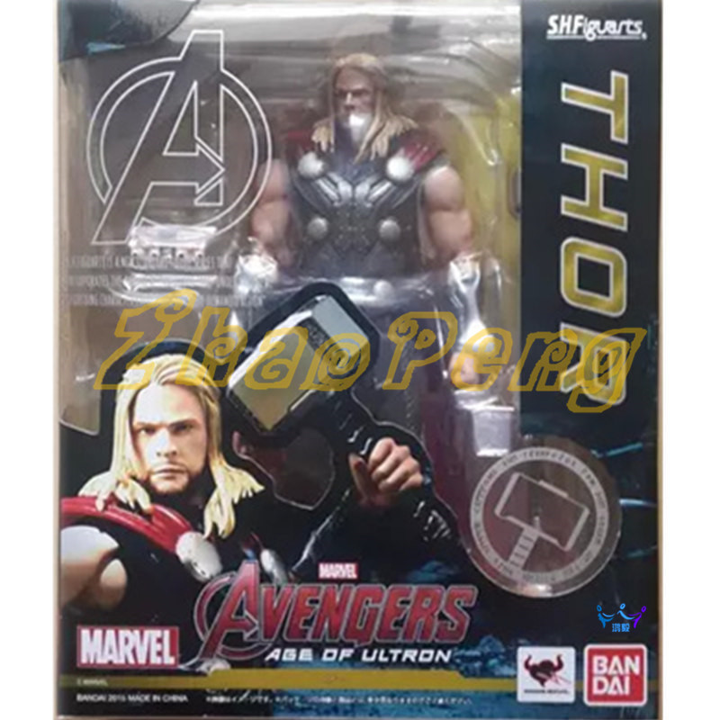 SHF figure  Avengers Thor action figure 16 CM Collection Decoration model PVC brinquedos kid gift with box juguetes patrulla canina with shield brinquedos 6pcs set 6cm patrulha canina patrol puppy dog pvc action figures juguetes kids hot toys