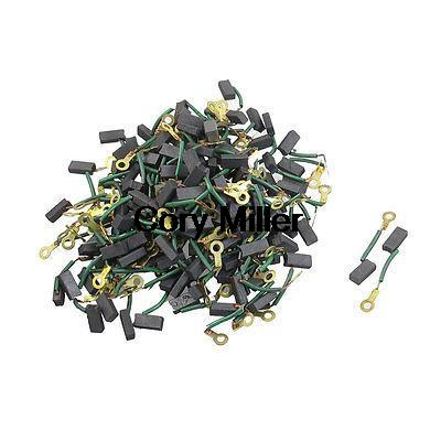 Power Tool Circular Saw Motor Carbon Brushes 4 x 6 x 13mm New 20pcs 5x10x19mm electric motor graphite carbon brushes springs