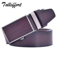 2015 New Cow Genuine Leather Mens Belts Luxury Automatic Wide Strap Belt For Men Cintos Cinturon