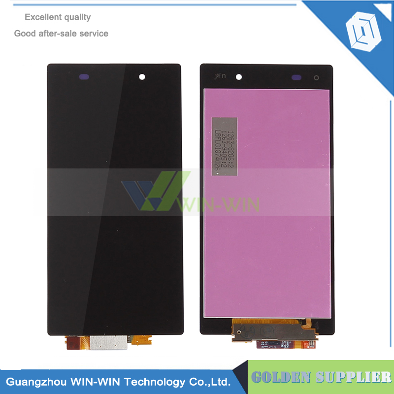 10 pieces/lot new test for Sony Xperia Z1 lcd display L39h C6902 C6903 C6906 C6943 screen with touch digitizer