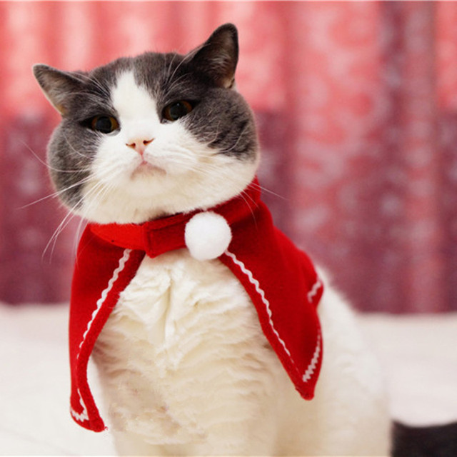 New 2018 cotton Cat Costumes Mantle suit clothes Pet Puppy Product Western Christmas For Dog Cat & New 2018 cotton Cat Costumes Mantle suit clothes Pet Puppy Product ...