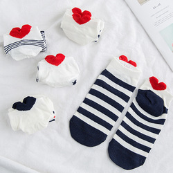High quality 5 pairs /lot New Women's Boat Socks Cotton Summer lovely Ladies Socks Wholesale