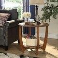 Console Tabelas Sala de estar Móveis Para Casa Móveis de madeira maciça estilo Americano Europeu Console Tabelas venda inteira 660*660*585mm
