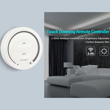 led Touch Dimming Remote Controller indoor 2.4G Hz wireless transmitting dimmable switch with Night light Control Distance 30m