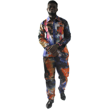 MD african clothes men's tops pant set 2 pieces outfit suit 2019 traditional african clothing for men dashiki shirt with trouser