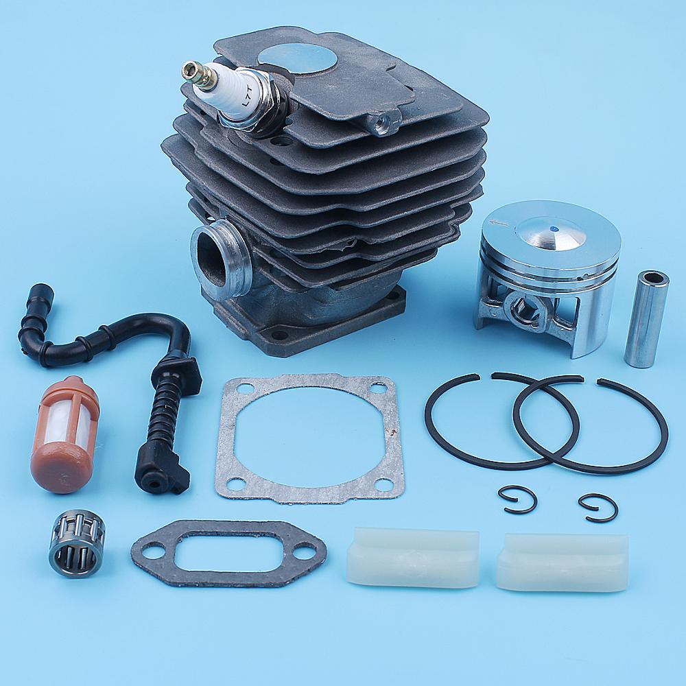 46mm Cylinder Piston Gasket Kit For Stihl 028 028AV 028 SUPER Q W WB Wood Boss Chainsaw 1118 020 1203 Bar Fuel Line Filter