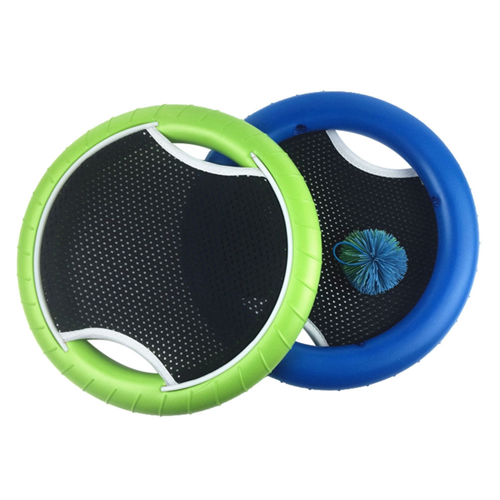 Slap Ball Hand Trampoline Super Disc Flying Disk Bounce Game with Rubberband Bouncy Ball (2Pcs Racket and 1Pcs Ball)Slap Ball Hand Trampoline Super Disc Flying Disk Bounce Game with Rubberband Bouncy Ball (2Pcs Racket and 1Pcs Ball)