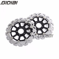 Front Right Left Brake Disc Rotors For Kawasaki ZXR 750 H1 H2 1989 1990 ZX9R (ZX 900 E1/E2) 2000 2001 Motorcycle Part