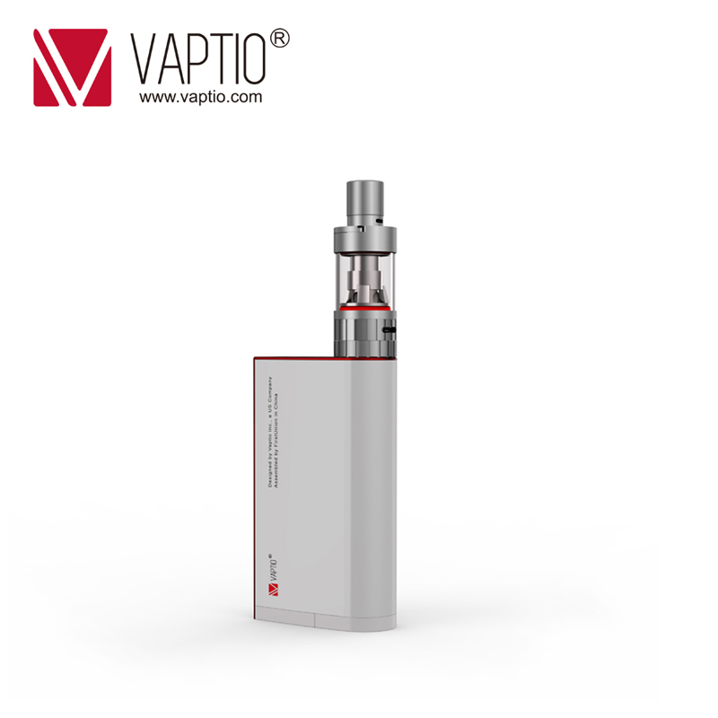 Electronic cigarette 150W Vaptio S150 vape kit with 3.0ml Atomizer 0.91 inch Screen support external 2*18650 Replaceable battery