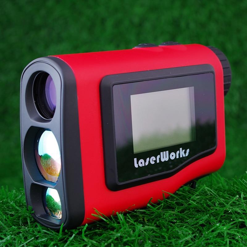 Telémetro de golf 600m pantalla LCD portátil de alcance telescopio - Instrumentos de medición - foto 2
