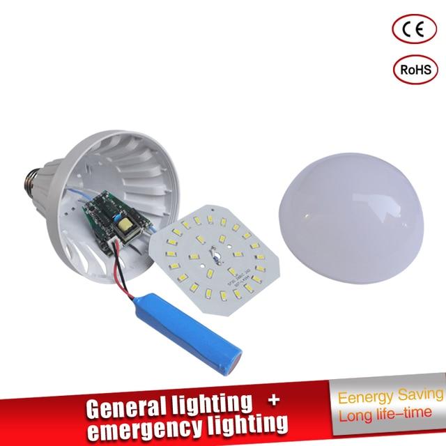 Led Emergency Light LED Bulb E27 led lamp 5W 7W 9W  Rechargeable Battery Lighting Lamp for Outdoor Lighting Bombillas Flashlight
