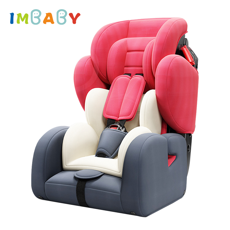 IMBABY 9M-12Y Children Kids Auto Safety Seat baby Protection Car Seat Baby Child Car Safety Seat Chair Kids Safety Seat 3 color baby kid car seat child safety car seat children safety car seat for 9 months 12 year old 3c certification