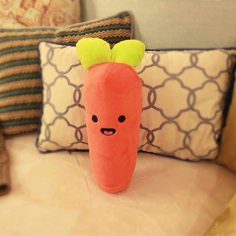 Мягкая плюшевая игрушка в виде моркови, 33/65 см