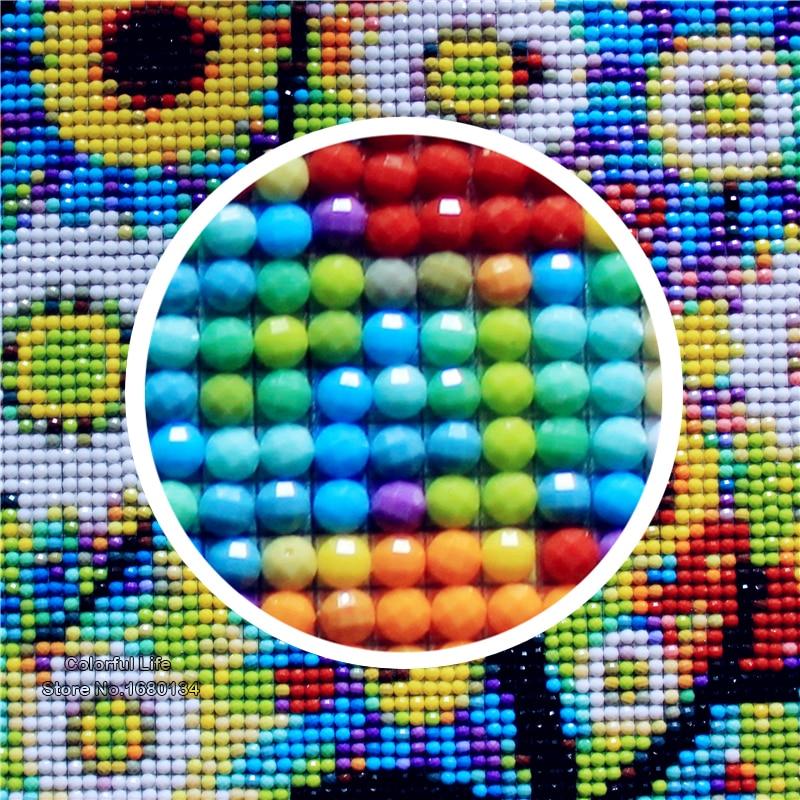 Kézműves eladás Diy gyémánt hímzés levendula fák gyémánt - Művészet, kézművesség és varrás - Fénykép 2