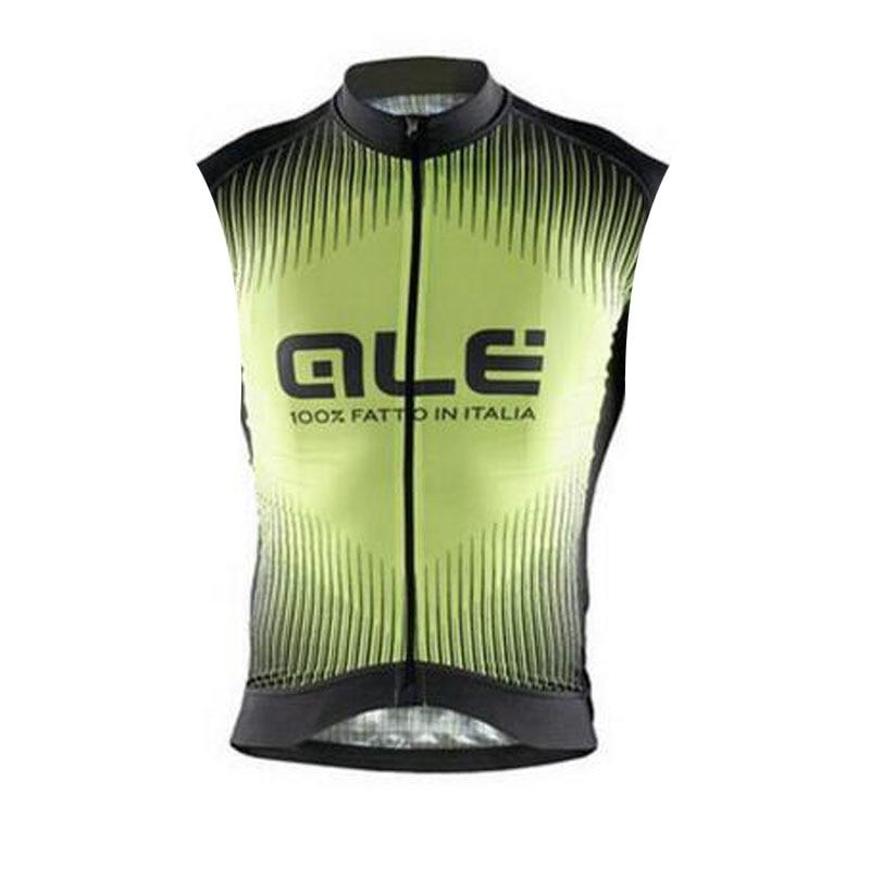 Prix pour Cyclisme jersey 2017 ale vélo de course chemises sans manches vtt vélo vélo clothing ropa ciclismo d'été vélo de route vêtements e0805