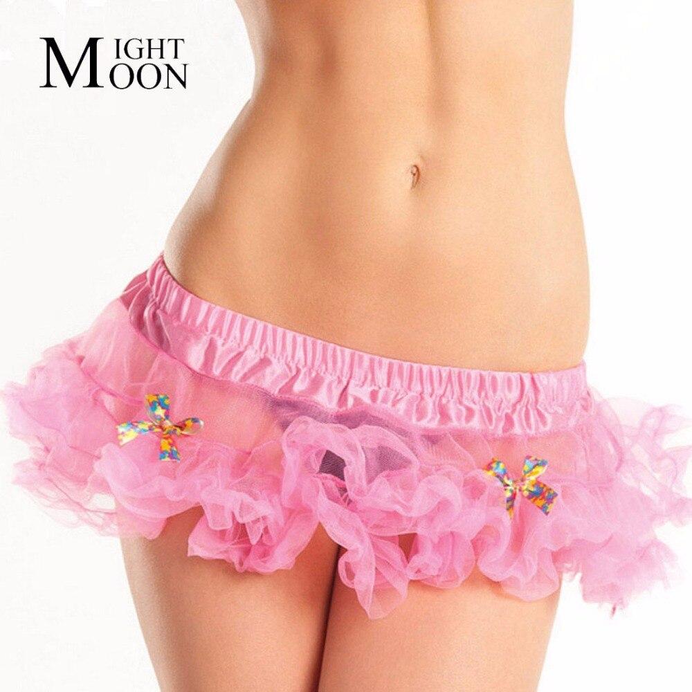 MOONIGHT Belly Dance Wear Clothing Skrit Womens Sexy Mini Tutu Skirt Pettiskirt Ladies Petticoat Kilt Belly Dance Tulle Skirts