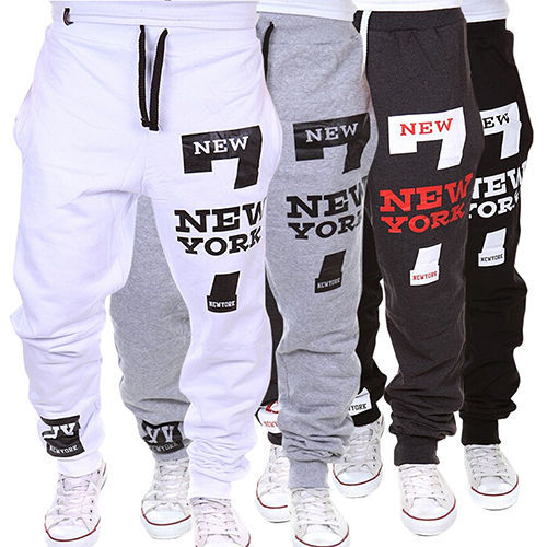 New Fashion Mens Harem Pants Casual Men Boys Pant Male Trousers Plus Size