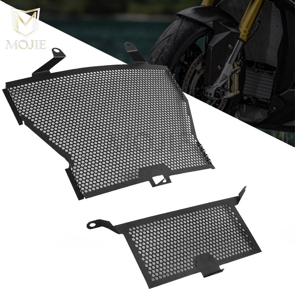 For BMW S1000R S1000RR HP4 S1000XR S1000 S 1000 R RR XR Motorcycle Accessories Radiator Grille Oil Cooler Guard Cover Protection kemimoto s1000rr radiator grill with oil cooler guard cover protector for bmw s 1000 rr hp4 2009 2010 2011 2012 2013 2014