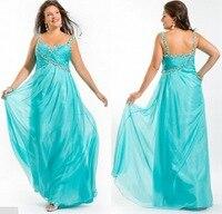 Горячая распродажа 2016 пром платья Большой размер линия Vestido феста милая открыть назад из бисера с ну вечеринку платье королевский монетный