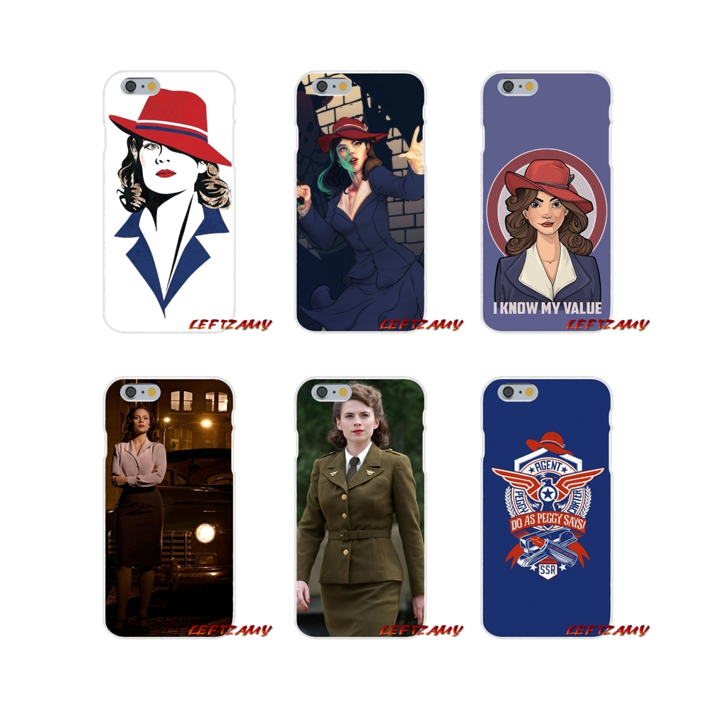 fashion Agent Carter For Motorola Moto G LG Spirit G2 G3 Mini G4 G5 K4 K7 K8 K10 V10 V20 V30 Accessories Phone Cases Covers