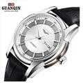 Sapphire GUANQIN Watch Men Mechanical Watches Luxury Sport Men Leather Watches Waterproof Military Men Watch Analog Wristwatches