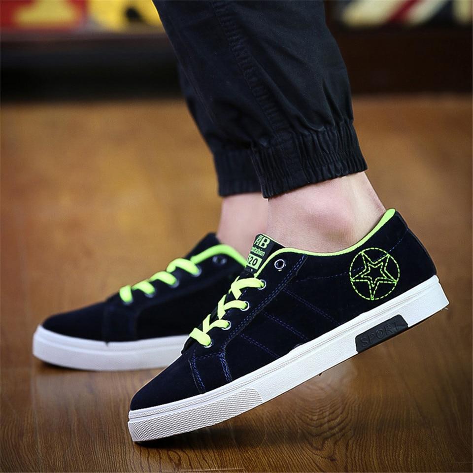 2017 primavera y otoño nuevos zapatos ocasionales antideslizantes - Zapatos de hombre - foto 5