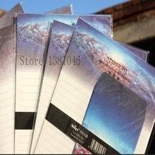 Ограниченное предложение Dreamland Туманность записи Бумага конверт канцелярские письмо площадку Рождественский подарок