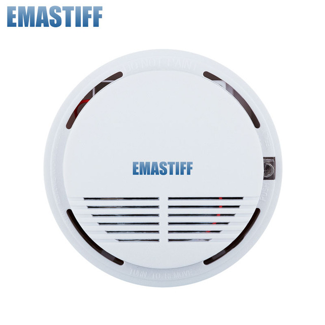 Free Shipping Hot 315 / 433MHZ Wireless Smoke Sensor Long Distance Can Trigger Home Alarm System Wholesale Price for GSM system