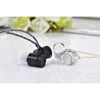 New Release JKR 301 In Ear Wired Earbuds Stereo Earphones Noise Isolation With Mic Volume Control