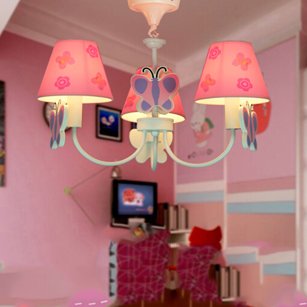 Led Home Lighting Lamp Butterfly Modern Chandelier Kids Room Cartoon LED  Chandeliers For The Bedroom E14 110V 220V Led Lamps In Chandeliers From  Lights ...