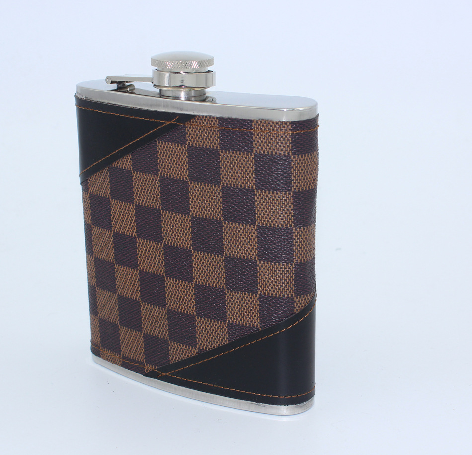 Cccp Petaca whisky 18 oz alcohol Hip-frascos de alto grado grueso acero inoxidable jarra Rusia jarra flasque alcool dama regalo