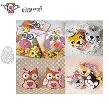 Piggy Craft metal cutting dies cut die mold Owl variety of animals Scrapbook paper craft knife mould blade punch stencils dies