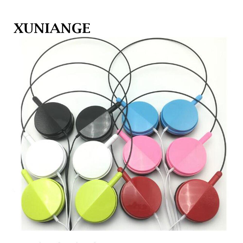 XUNIANGE Sport Headphone 3 5mm Jack Earphone Sweatproof Stereo Strong Bass Music Magnets Headset with Mic