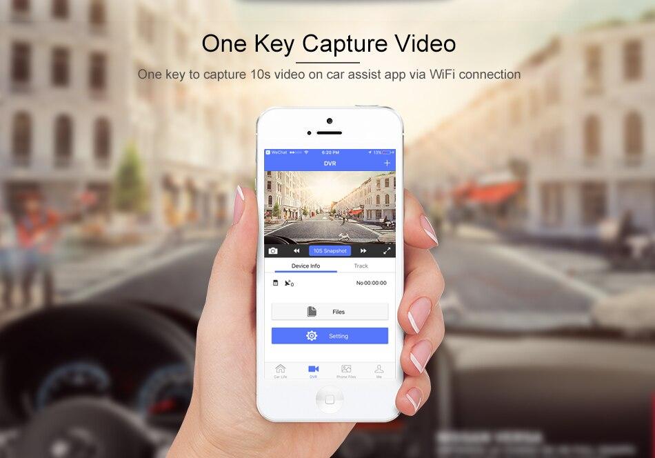 RUCCESS R40S 4G Dash Cam Car DVR Wifi GPS Camera Remote Monitor ADAS Smart Android 5.1 Dual Lens 1080P Nigth Vision Dashcam DVRs 8