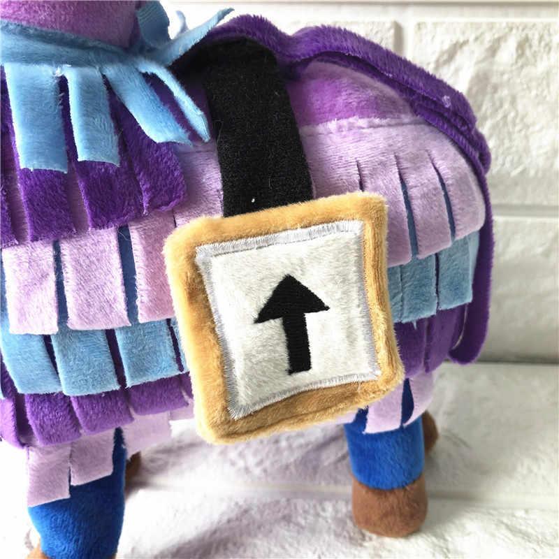 25/35/55cm Lhama De Pelúcia Figura Do Jogo Video Game Quinzena Troll Stash Rainbow Lhama Alpaca Cavalo Telefone colhedores de Presente Brinquedo de Pelúcia