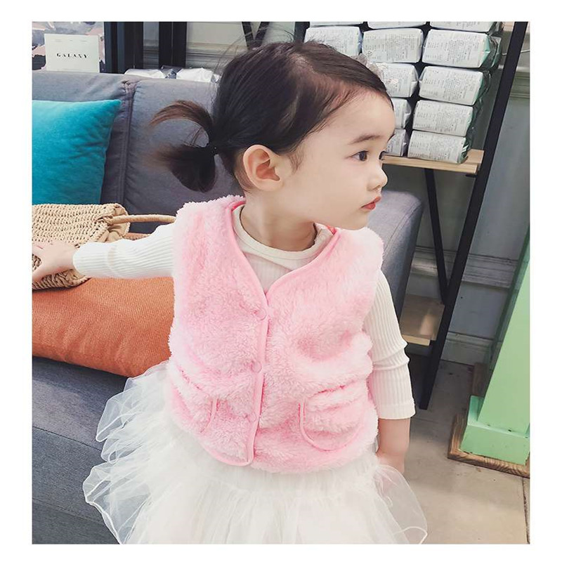 57a004d9ee57 0 6 years 2018 autumn winter fashion Solid warm kid children baby ...
