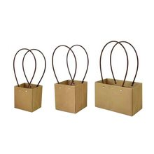 Kraft Paper Bag With Handle Baby Shower Wedding Birthday Party Favor Gift Christmas New Year Shopping