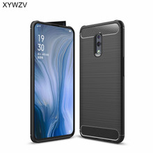 For OPPO RenO Case Shockproof Armor Protective Soft Silicone Phone Bumper Back Cover Reno Fundas