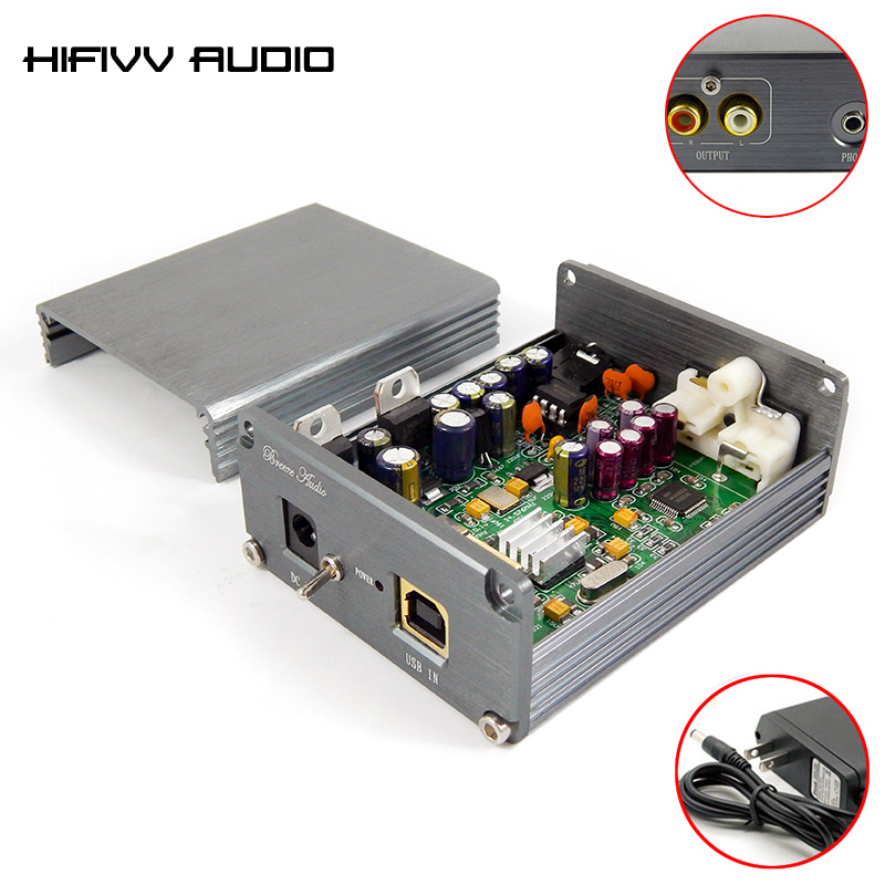 hifi mp3 decoder XMOS U8 + AK4490 AMP NE5532 USB DAC board