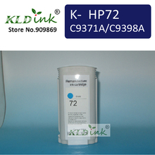 HP72 C9371A/C9398A голубой замена картриджа для designjet T1300, T2300, T2300 принтера
