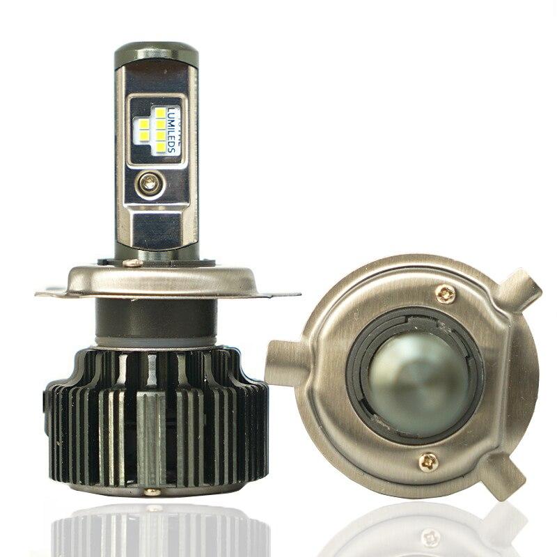 JGAUT TURBO T6 CSP LED H4 H7 H11 H1 9005 9006 H3 HB3 HB4 60 W 8000lm Voiture LED Phares Ampoule Brouillard Lumière 6000 K 12 V 24 V automobiles